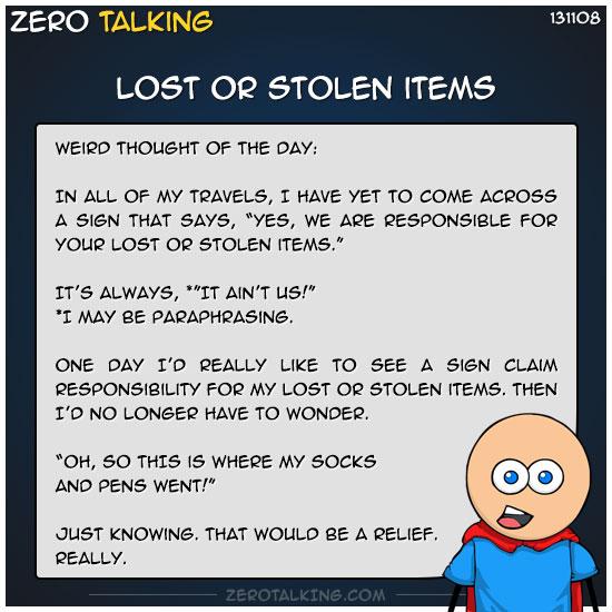 lost-or-stolen-items-zero-dean