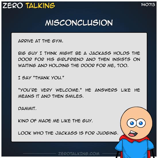misconclusion-zero-dean