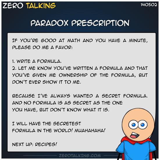 paradox-prescription-zero-dean