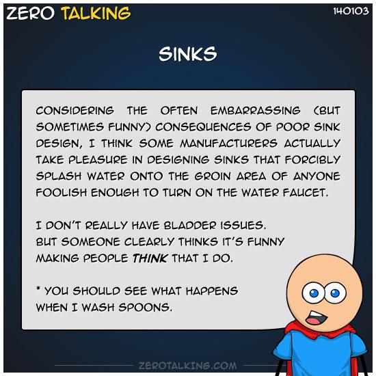 sinks-zero-dean