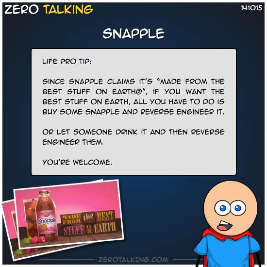 snapple-zero-dean