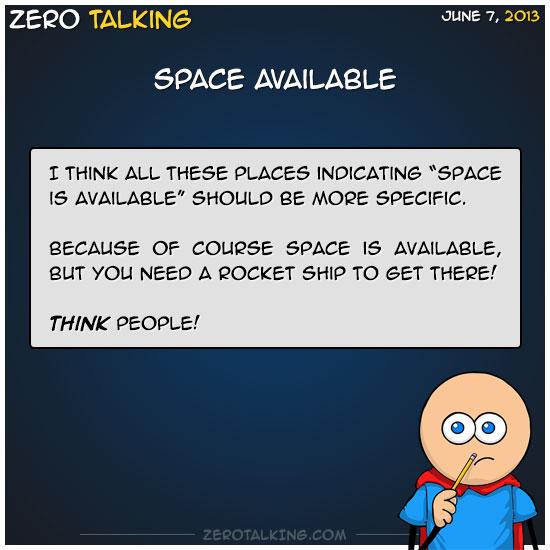 space-available-zero-dean