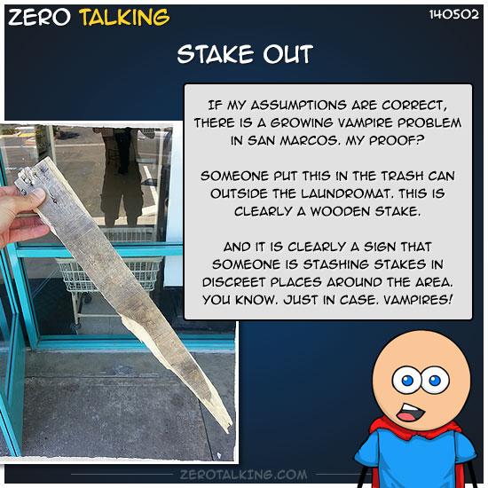 stake-out-zero-dean
