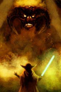 Yoda Versus The Balrog
