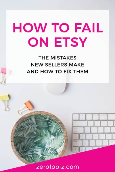 How to Fix Etsy Mistakes for New Sellers