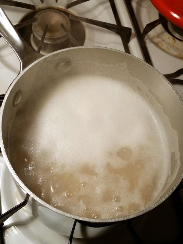 4 heat until boiling
