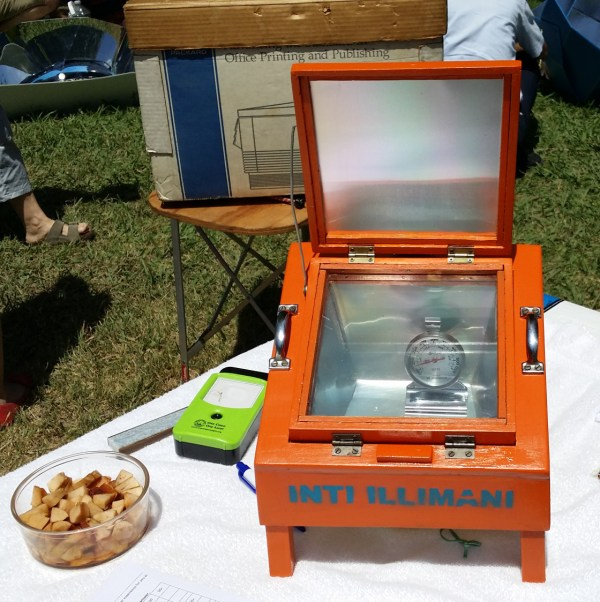 small solar cooker