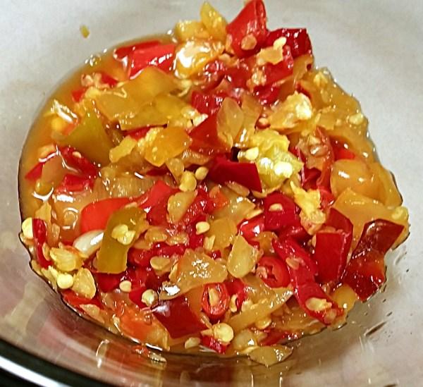 fermented peppers 6 weeks