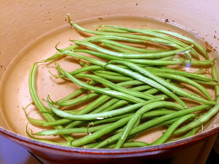 green bean bath