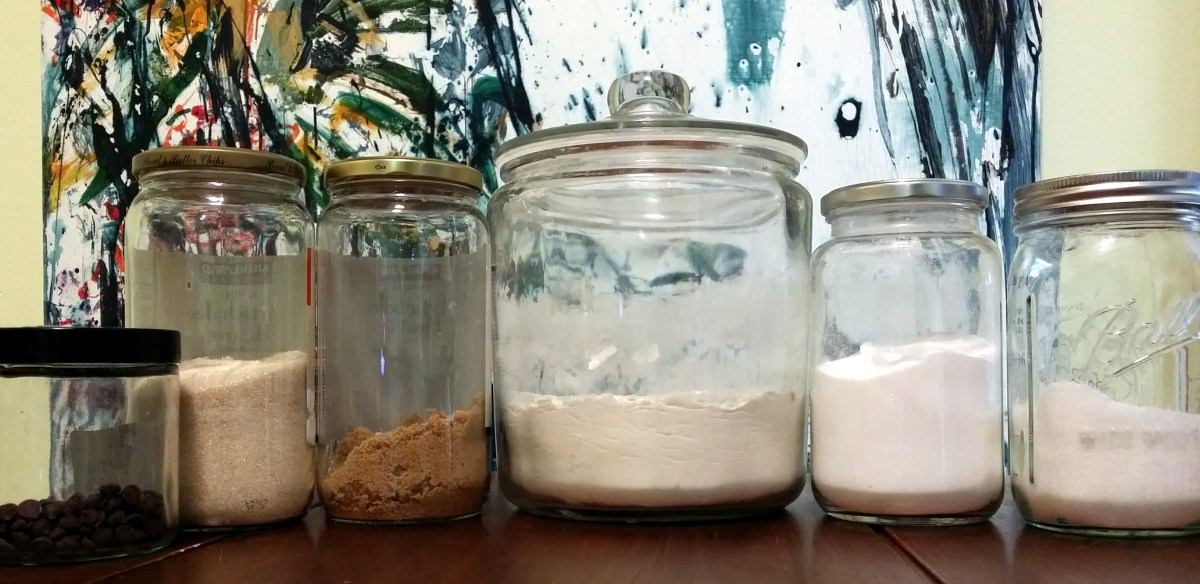 Gifts in Jars: Chocolate Chip Cookie Mix