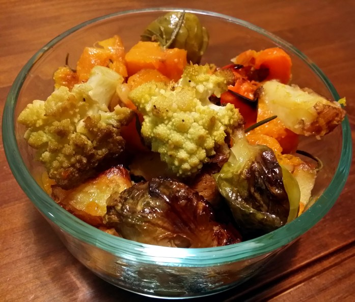 roasted veg dish