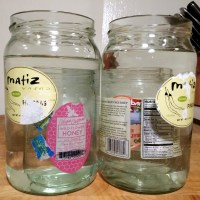 How to Remove Labels and Smells from Jars