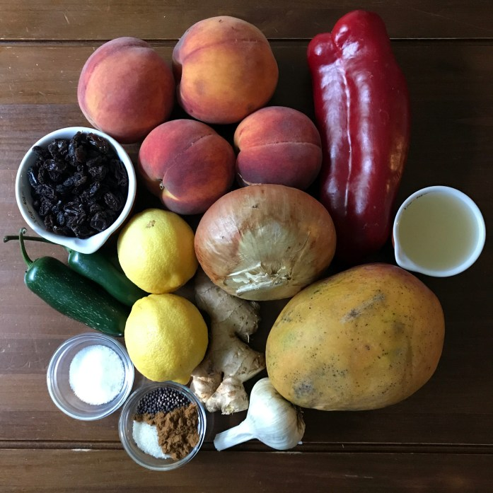 fruit chutney ingredients