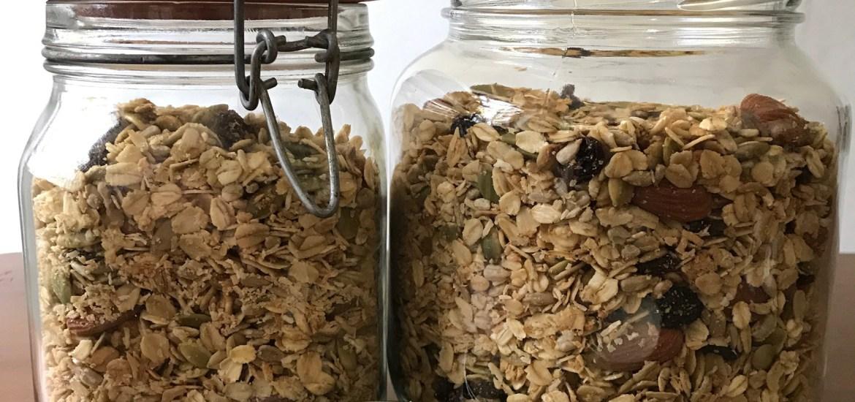 homemade granola