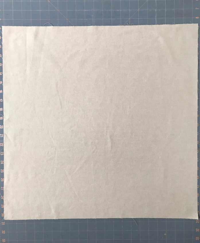 square of fabric for a bento bag