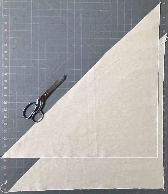 bento bag triangles