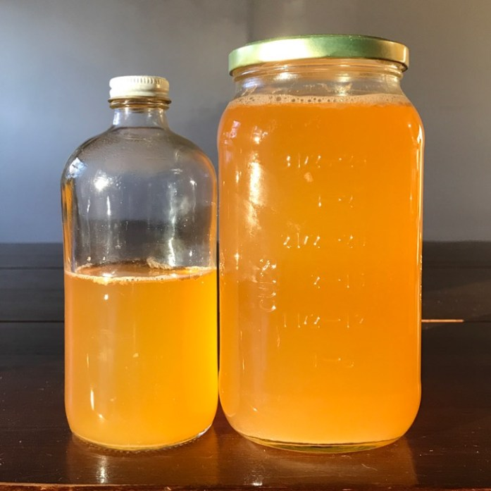 homemade apple cider vinegar made from trash