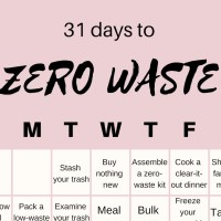 Go Zero-Waste in 31 Days