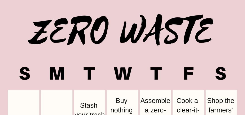 67e5dd3d0c7 Go Zero-Waste in 31 Days - Zero-Waste Chef