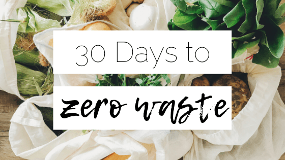 30 days to zero waste