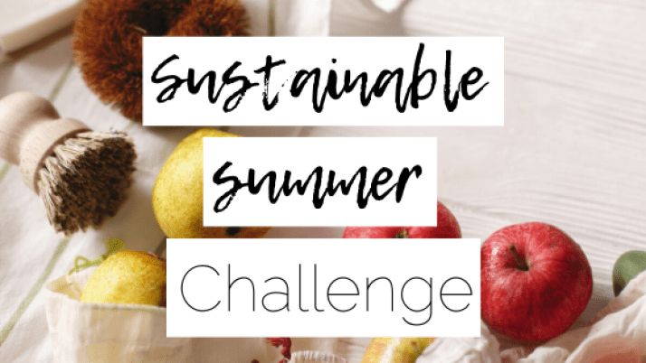 sustainable summer challenge