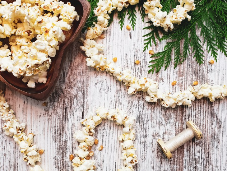 How to Make a Popcorn Garland