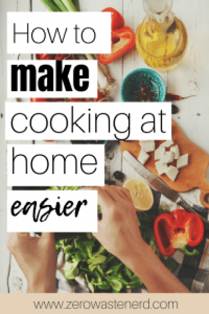 how to make cooking at home easier