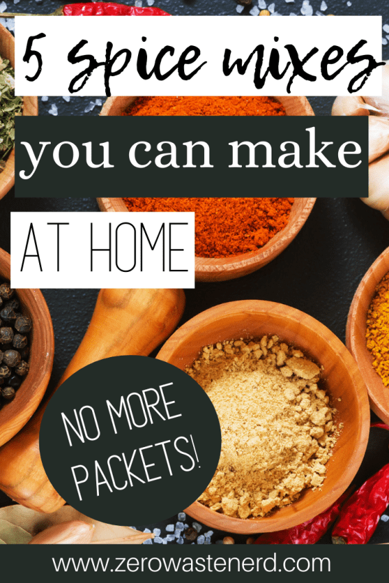 Spice Mixes You Can Make At Home