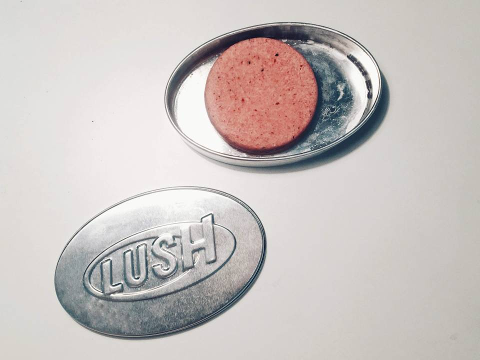 неуспешна покупка - твърд шампоан Lush