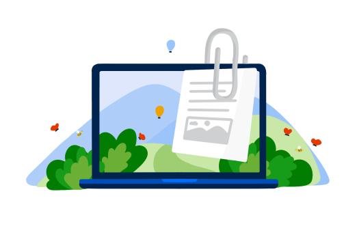 да намалим дигиталния си боклук - изпращайте файловете като линк за сваляне, а не прикачвам към мейл