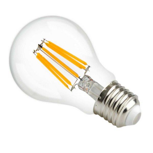 Dimbar LED-ljuskälla E27 Filament, 8W, 806lm