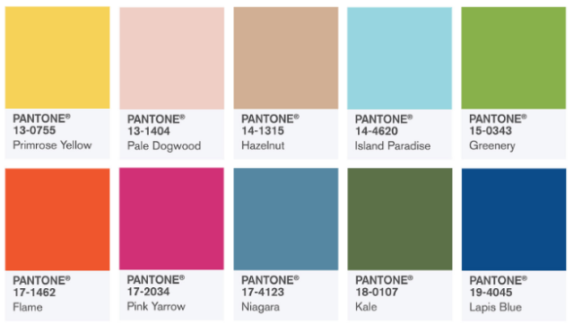 Photo Courtesy: Pantone