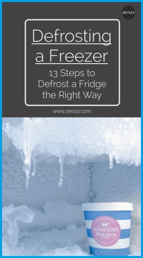 Defrosting a Freezer - 13 Steps to Defrost a Fridge Perfectly