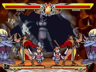 Vampire Mix Mugen Screenpack Battle screenshot