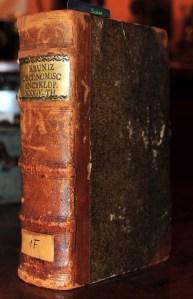 Book Cover: Johann Georg Krünitz/ Oekonomisch-technologische Encyklopädie, oder allg. meines System.../ 1785