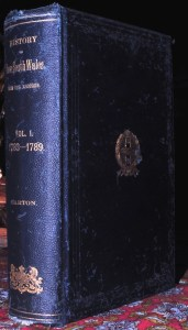 Book Cover: G.B. Barton / History of New South Wales. Vol.I. / 1889