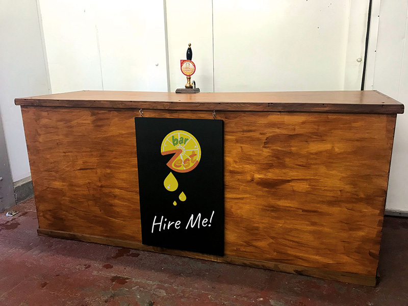 Bar for Hire!