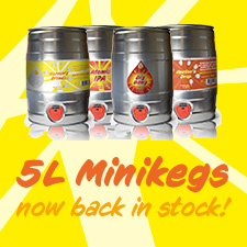 Minikeg Feature March 2021