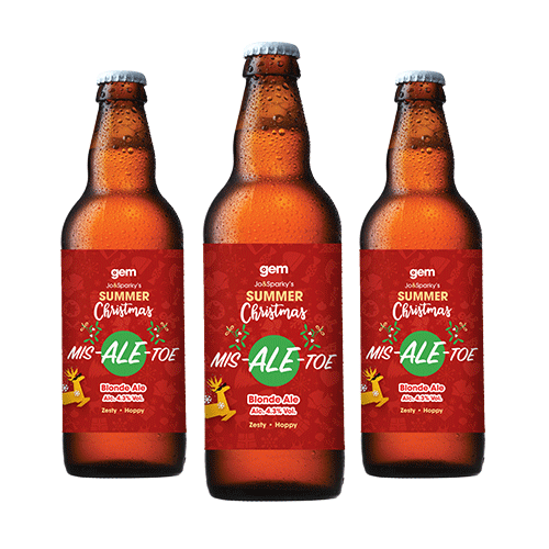 Mis-Ale-Toe Blonde Ale