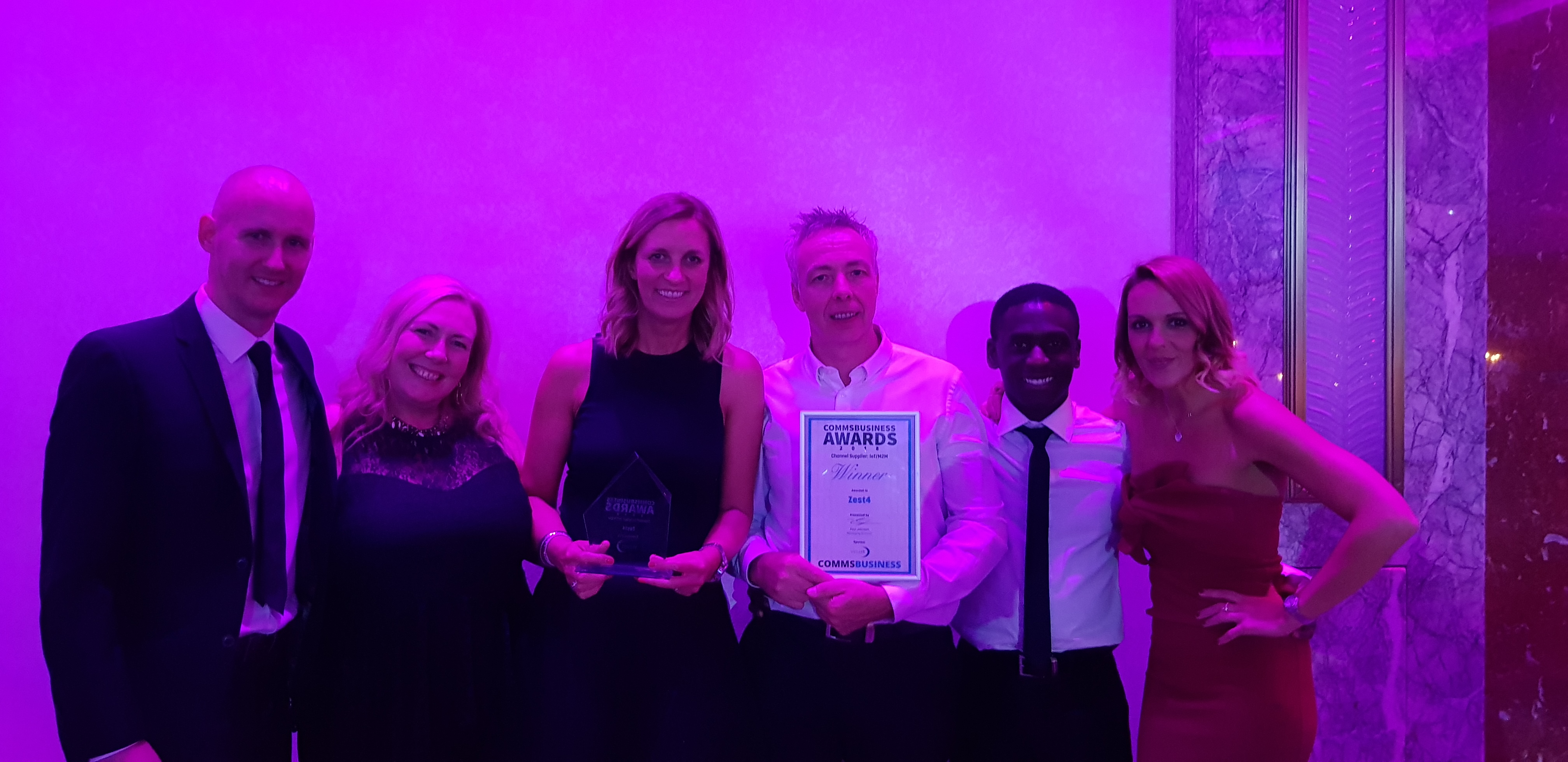 Zest4 Comms Business Awards 2018