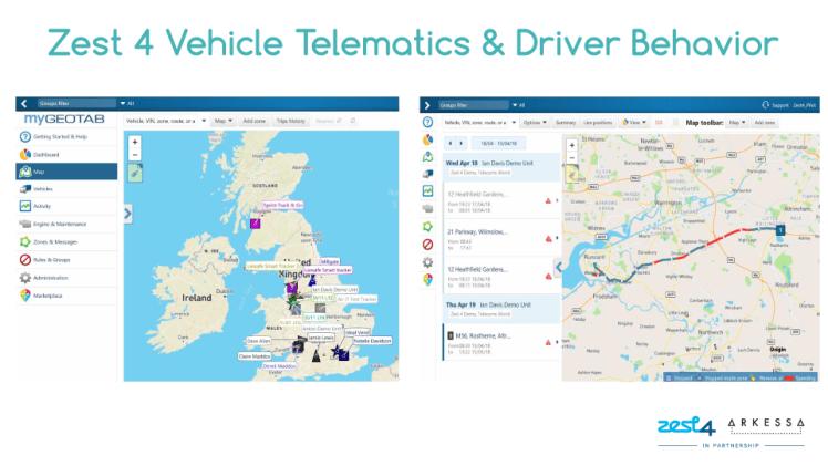 Driver Behaviour Telematics Example