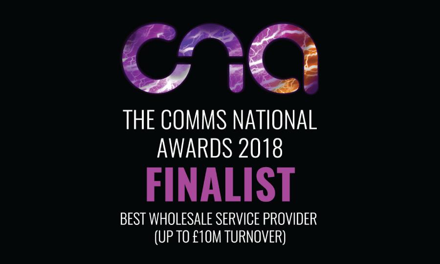 Comms National Awards 2018 Finalist Logo