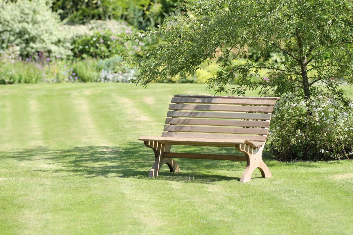 Harriet Park Bench Wooden Bench Zest 4 Leisure Direct