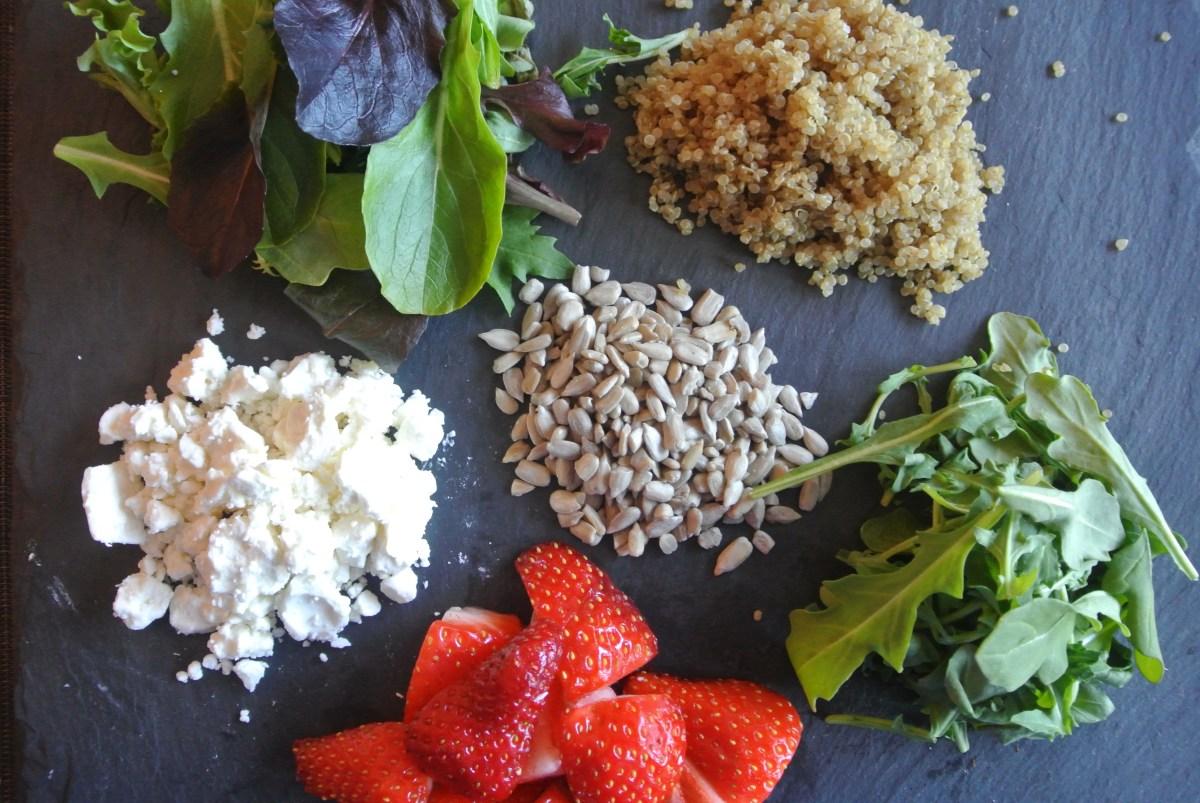 Ingredients for Jar Salald