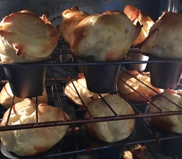Baking popovers