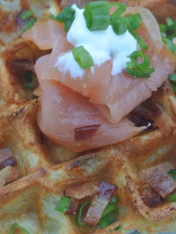 Waffles Potatoes