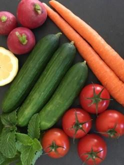 Chopped Salad Ingredients