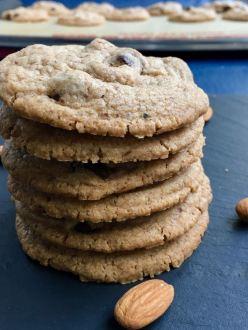 GF Chickpea Almond cookies