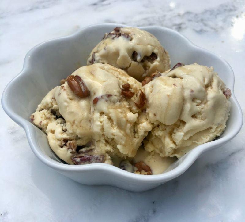 Maple Toasted Pecan Ice Cream