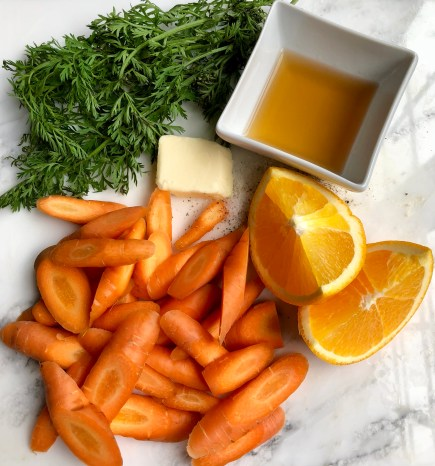 Buttered Brandy Carrots
